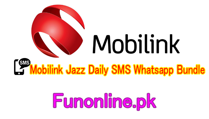 mobilink jazz daily sms whatsapp bundle details sub code