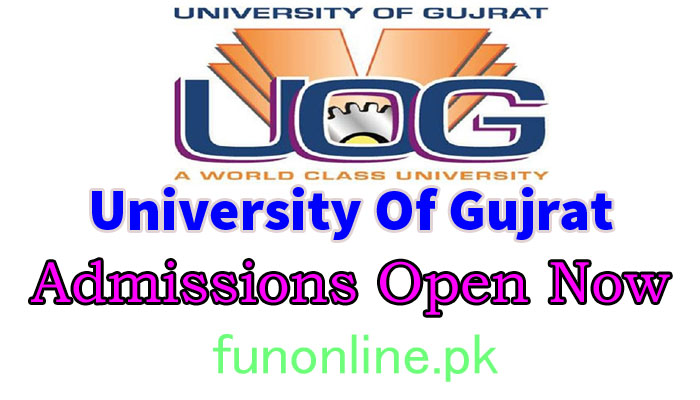 university of gujrat admission 2018