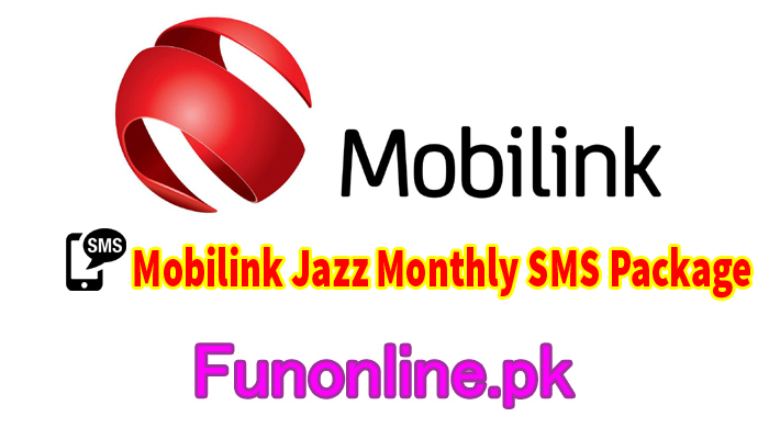 mobilink jazz monthly sms package