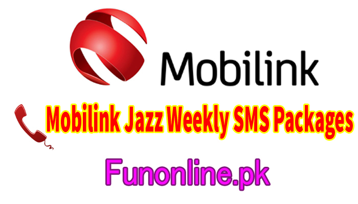 mobilink jazz weekly sms packages