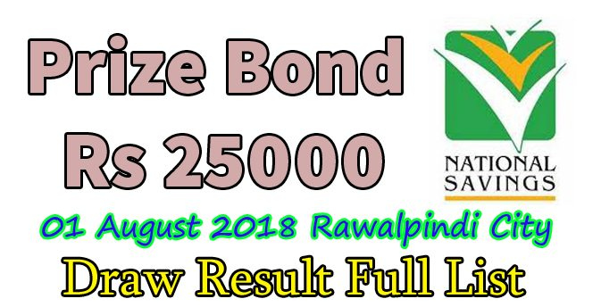 prize bond 25000 list draw result complete download