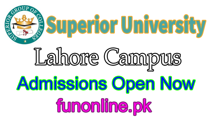 superior college university admission 2018