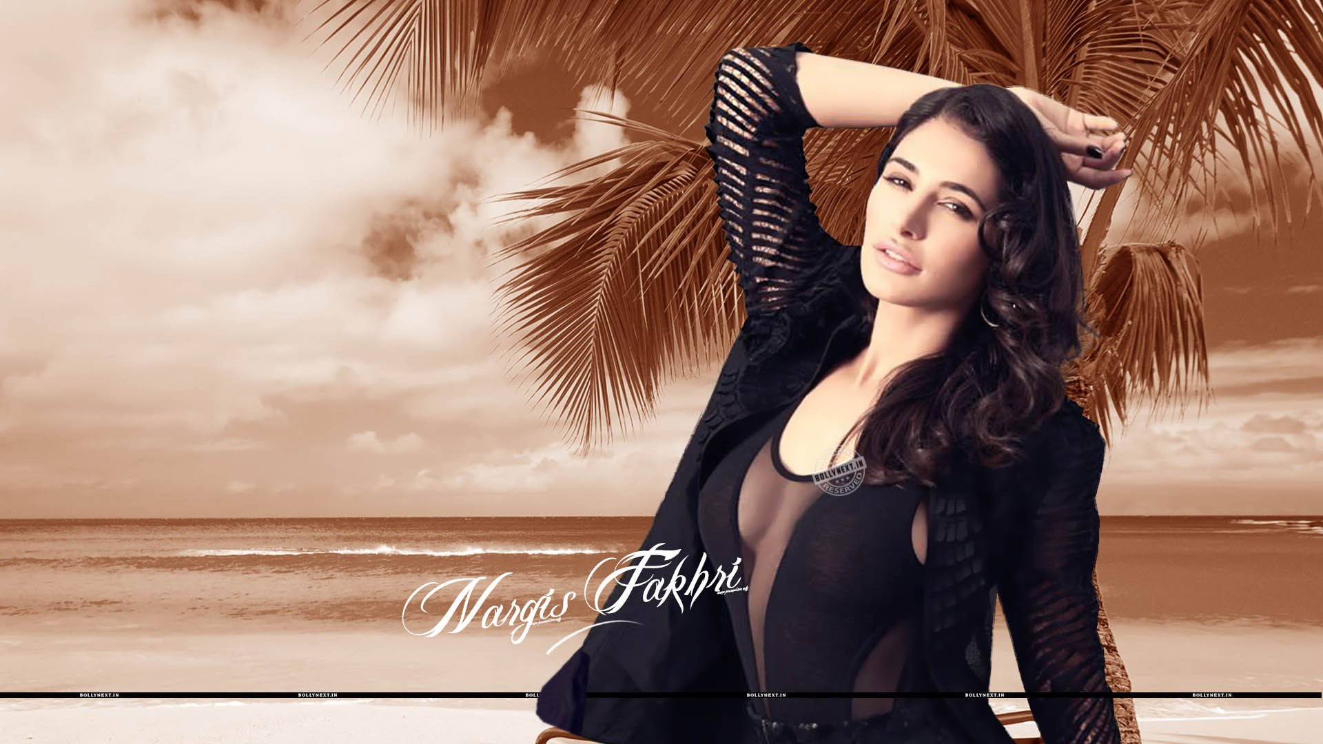 nargis fakhri hot sexy wallpapers