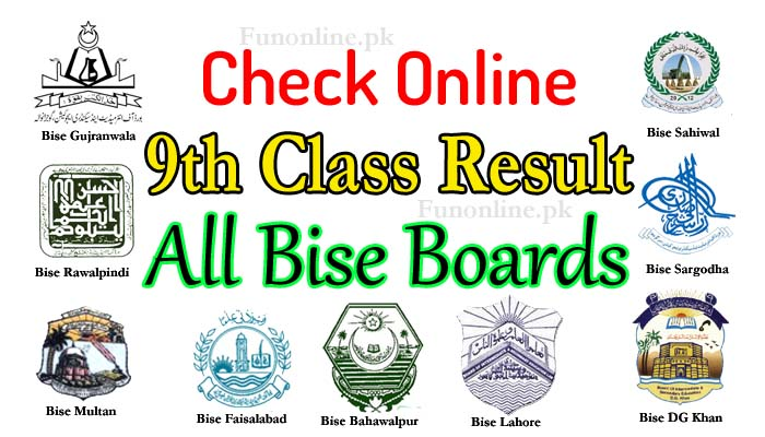 9th class result 2018 all bise boards