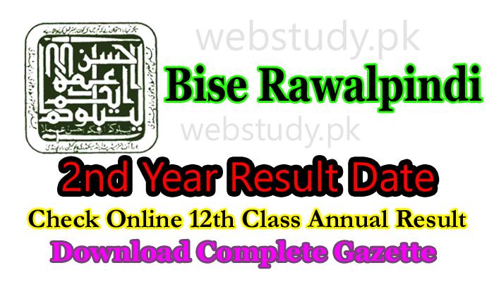bise rawalpindi 2nd year result 2018