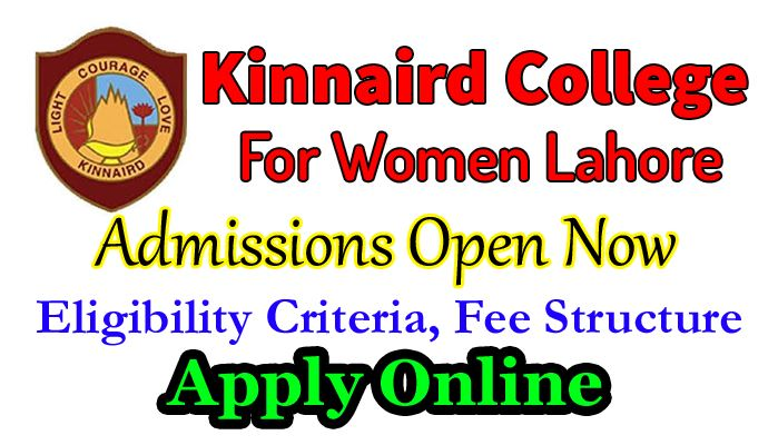 kinnaird college for women lahore admission 2018