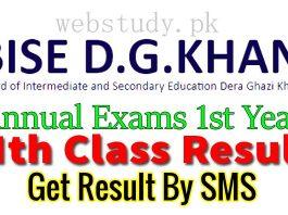 bise dg khan board 1st year result 2018