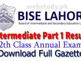 bise lahore 1st year result 2018