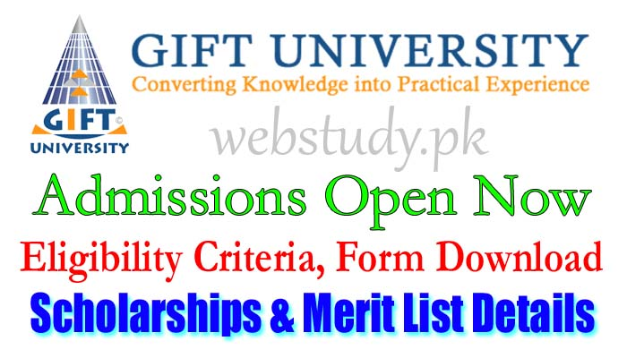 www.gift.edu.pk admission 2018