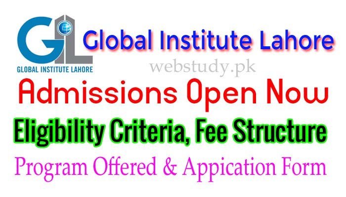 www.global.edu.pk admission 2018