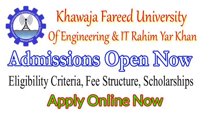 khawaja fareed engineering university admissin 2018