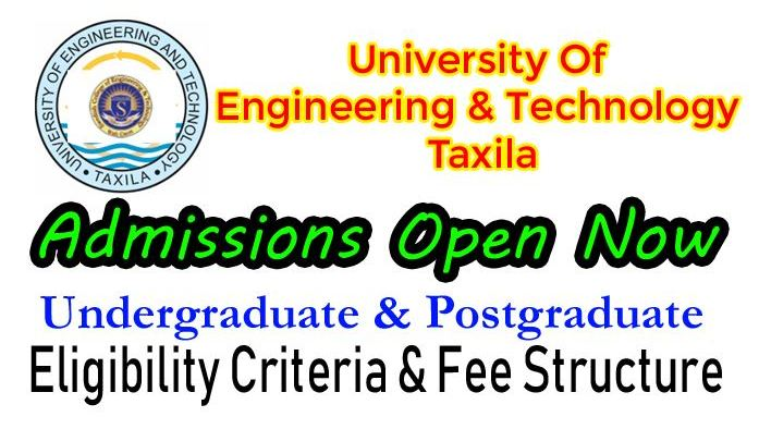 uet taxila admission 2019