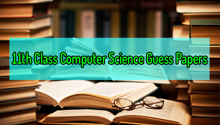11th class computer science guess papers 2019 online download pdf