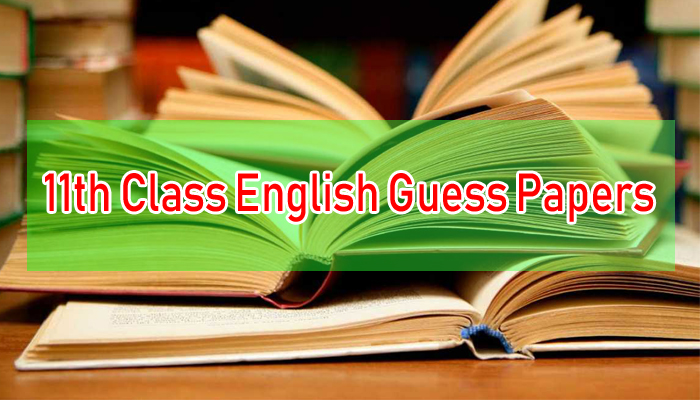 1st Year English Guess Papers 2019 | WebStudy