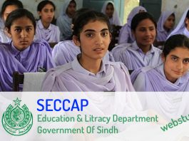 ceccap form online registration for college in karachi