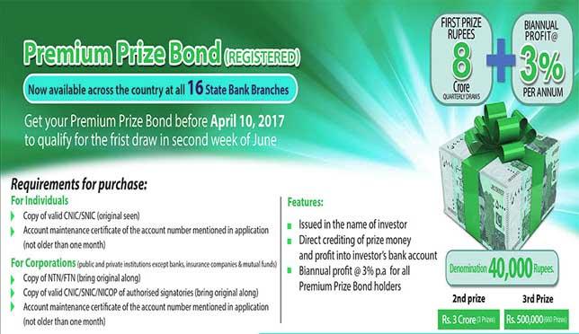 40000 premium prize bond draw