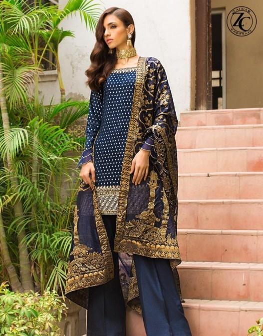 Zainab Chottani lawn suit designs 2019