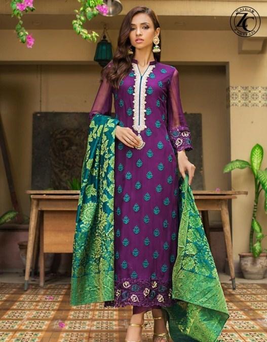 Zainab Chottani piece suit designs 2019