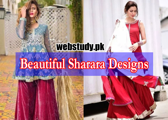 latest sharara designs 2019