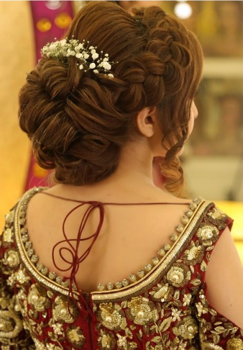 beautiful eid hairstyles by kashee's artist