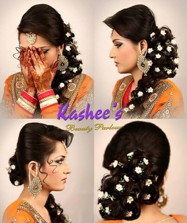 eid ul azha hairstyles by kashee artist