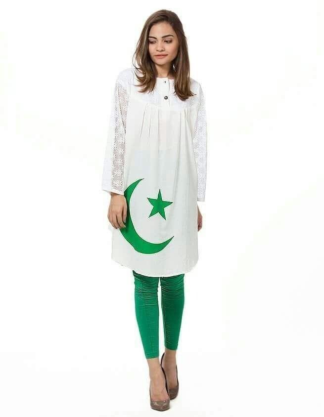 pakistan independence day girls shirts designs