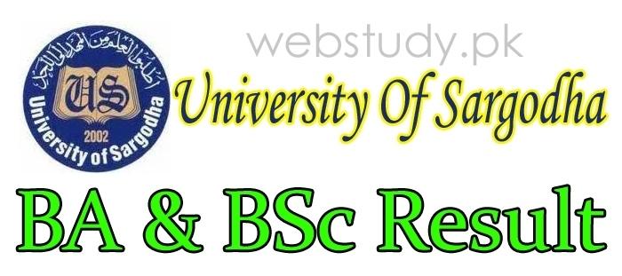university of sargodha uos ba bsc result 2019