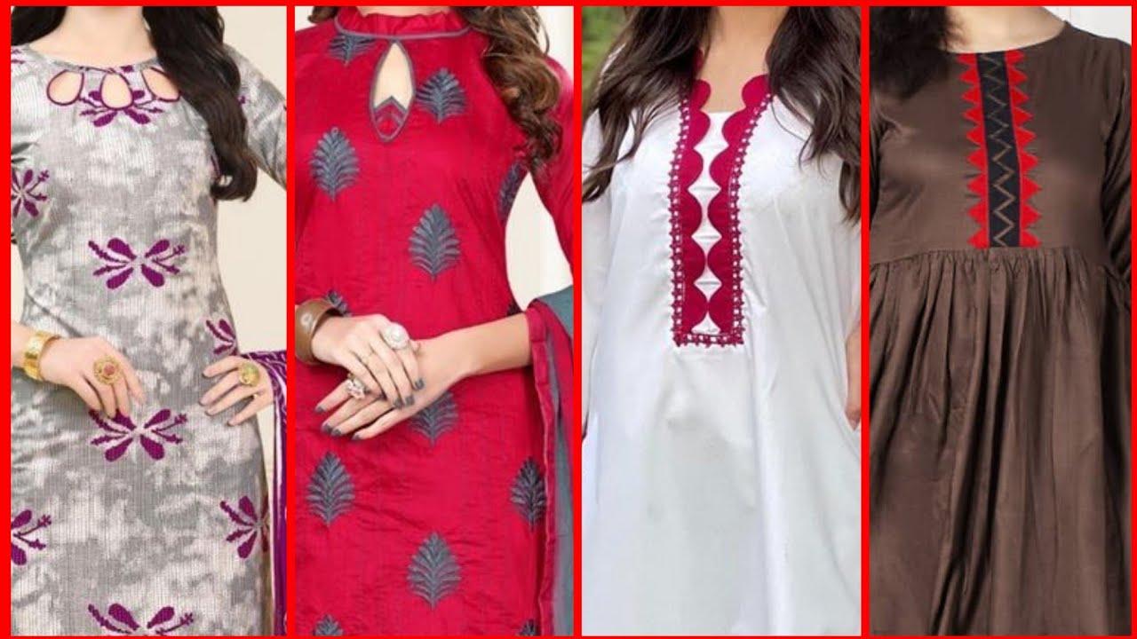 neck design 2021 for girls